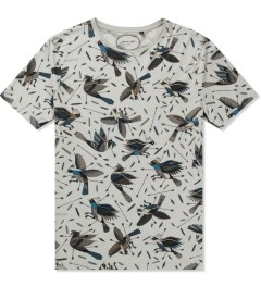 Commune De Paris Medium Grey Oiseaux All T-Shirt Picutre