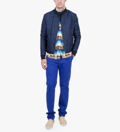 Etudes Blue Langage Pants Model Picutre