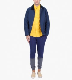 Etudes Yellow Poesie Shirt Model Picutre