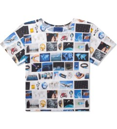 Etudes Multicolor Print Surf Powder T-Shirt Picutre