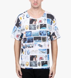 Etudes Multicolor Print Surf Powder T-Shirt Model Picutre