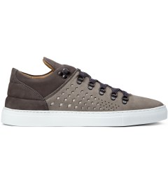 Filling Pieces All Grey Moutain Cut Gradient Perforated Shoe Picutre
