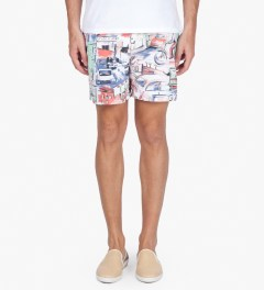 Hentsch Man Urban Print Swimmer Model Picutre