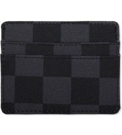 Herschel Supply Co. Black Checkerboard Charlie Cardholders Model Picutre