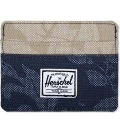 Herschel Supply Co. Navy Waldorf/Khaki Waldorf Charlie Cardholder Picutre