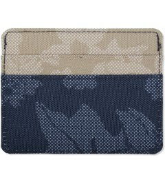 Herschel Supply Co. Navy Waldorf/Khaki Waldorf Charlie Cardholder Model Picutre
