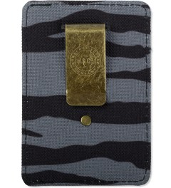 Herschel Supply Co. Zebra Raven Cardholders Model Picutre