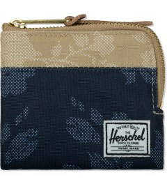 Herschel Supply Co. Navy Waldorf/Khaki Waldorf Johnny Zip Wallet Picutre