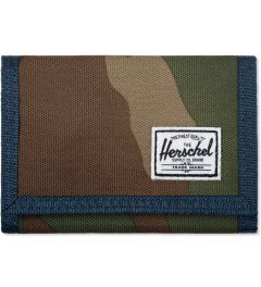 Herschel Supply Co. Woodland Camo/Navy/Red Hilltop Wallet Picutre