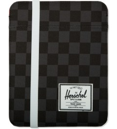 Herschel Supply Co. Black Checkerboard Cypress Sleeve for iPad Picutre