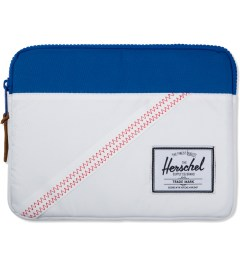 Herschel Supply Co. White/Regatta Blue Anchor Sleeve for iPad Picutre