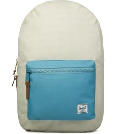 Herschel Supply Co. Bone/Punch Bug Blue/Synchro Red Settlement Backpack Picutre