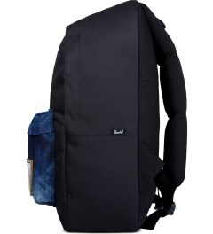 Herschel Supply Co. Black/Acid Denim Deerfield Backpack Model Picutre