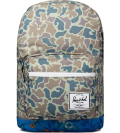 Herschel Supply Co. Duck Camo/Paradise Pop Quiz Backpack Picutre