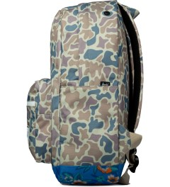 Herschel Supply Co. Duck Camo/Paradise Pop Quiz Backpack Model Picutre