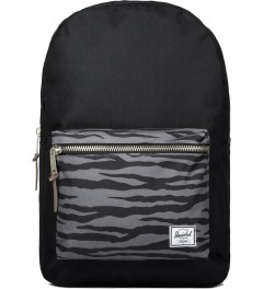 Herschel Supply Co. Black/Zebra/Cyan Settlement Backpack Picutre