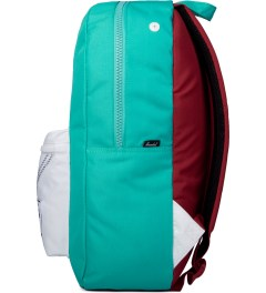 Herschel Supply Co. Mark Teal/White/Racing Red Settlement Backpack Model Picutre