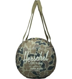 Herschel Supply Co. Duck Camo/Bone Packable Duffle Bag Model Picutre