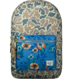 Herschel Supply Co. Duck Camo/Paradise Settlement Backpack Picutre