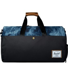 Herschel Supply Co. Black/Acid Denim Lonsdale Duffle Bag Picutre