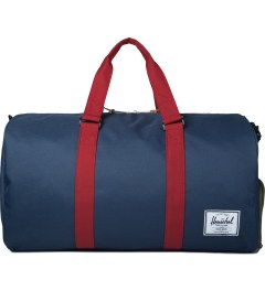 Herschel Supply Co. Navy/Red/Woodland Camo Novel Duffle Bag Picutre