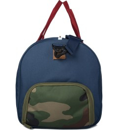 Herschel Supply Co. Navy/Red/Woodland Camo Novel Duffle Bag Model Picutre