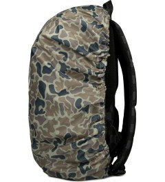 Herschel Supply Co. Duck Camo Packable Rain Cover Model Picutre