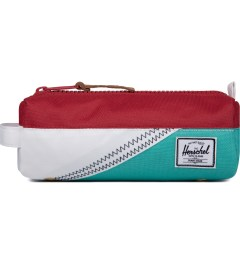Herschel Supply Co. White/Racing Red/Mark Teal Settlement Case Picutre