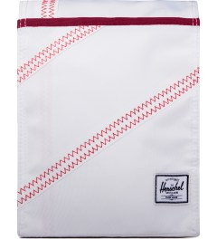 Herschel Supply Co. White/Racing Red Canteen Lunch Pack Picutre