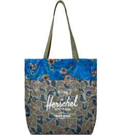 Herschel Supply Co. Duck Camo/Paradise Packable Travel Tote Picutre