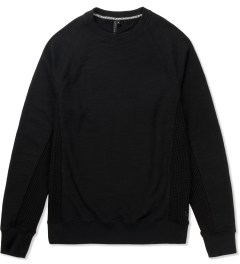 Uppercut Black Air Crewneck Sweater Picutre