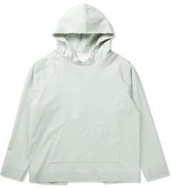 Matthew Miller Off Grey TEC Fabric Hoodie Picutre