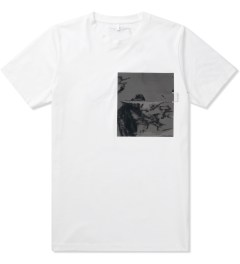 Matthew Miller White Foil Pocket T-Shirt Picutre