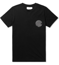 Matthew Miller Black Foil Pocket Circle T-Shirt Picutre