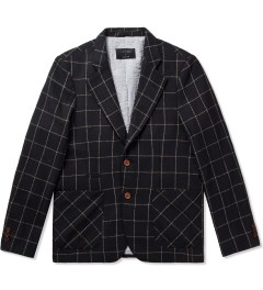 i love ugly. Black Check Blazer   Picutre