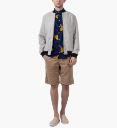Libertine-Libertine Peacoat Finger Hunter S/S Shirt Model Picutre