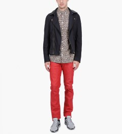Libertine-Libertine Peacoat Hunter L/S Shirt Model Picutre