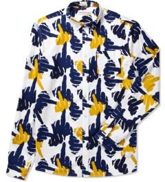 Libertine-Libertine White Peacoat Finger Hunter L/S Shirt Picutre