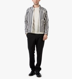 Liful Stripe Boat Jacket  Model Picutre