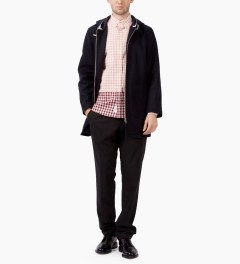 Liful Pink Gingham Check Shirt  Model Picutre