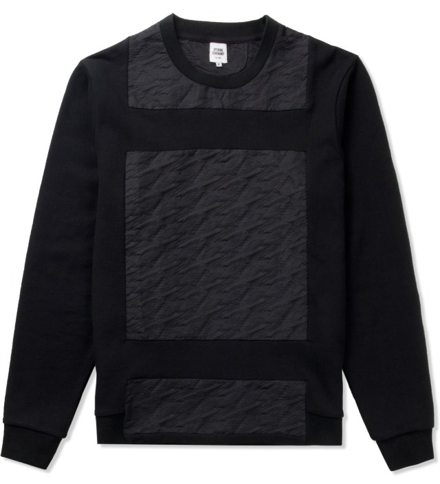 Black Magpie Jacquard Sweater