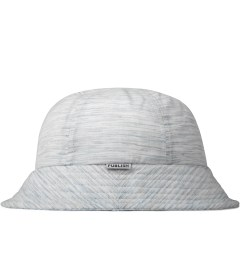 Publish Grey Rylan Multi-colored Stripe Bucket Hat Model Picutre