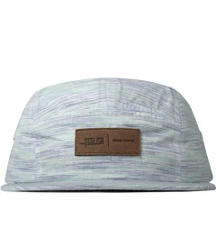 Publish Peacock Chalmers Multi-colored Stripe Farbic Camper Cap   Picutre