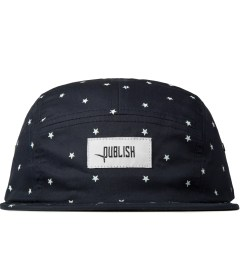 Publish Navy Morton All Over Star Pattern Camper Cap  Picutre