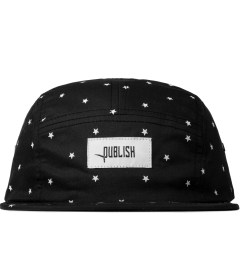 Publish Black Morton All Over Star Pattern Camper Cap  Picutre