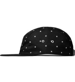 Publish Black Morton All Over Star Pattern Camper Cap  Model Picutre