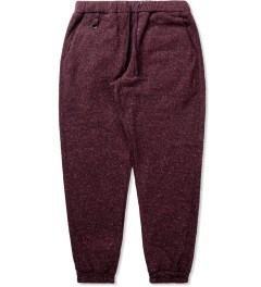 Publish Maroon Borbeau Knit Jogger Pants Picutre