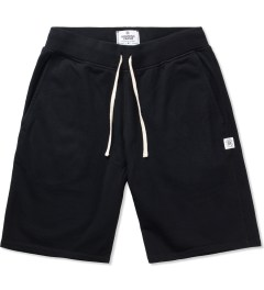 Reigning Champ Black RC-5019 Midweight Twill Fr Terry Sweatshort Picutre