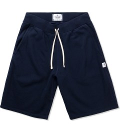 Reigning Champ Navy RC-5019 Midweight Twill Fr Terry Sweatshorts Picutre