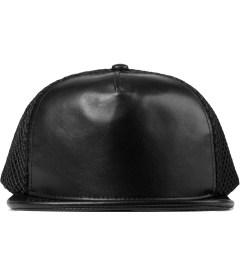 Stampd Black Lambskin Mesh Back Standard Hat Picutre